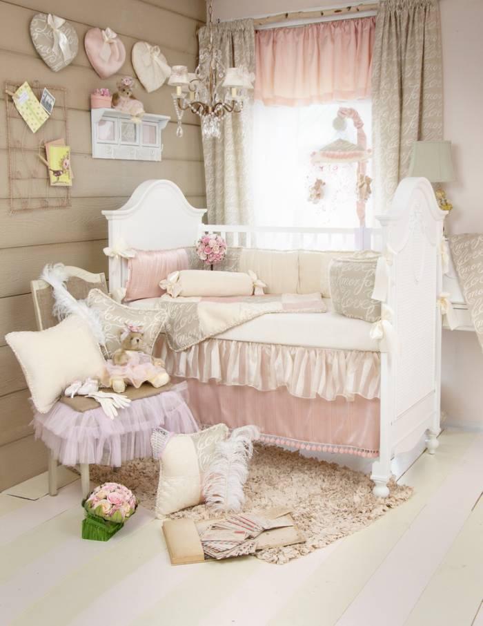 Love Letters Crib Bedding